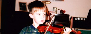 5 year-old violinist